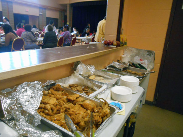 Community dinner kicks off new EPA-funded environmental justice project